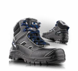 BRUSEL bezpečnostní kotníková obuv